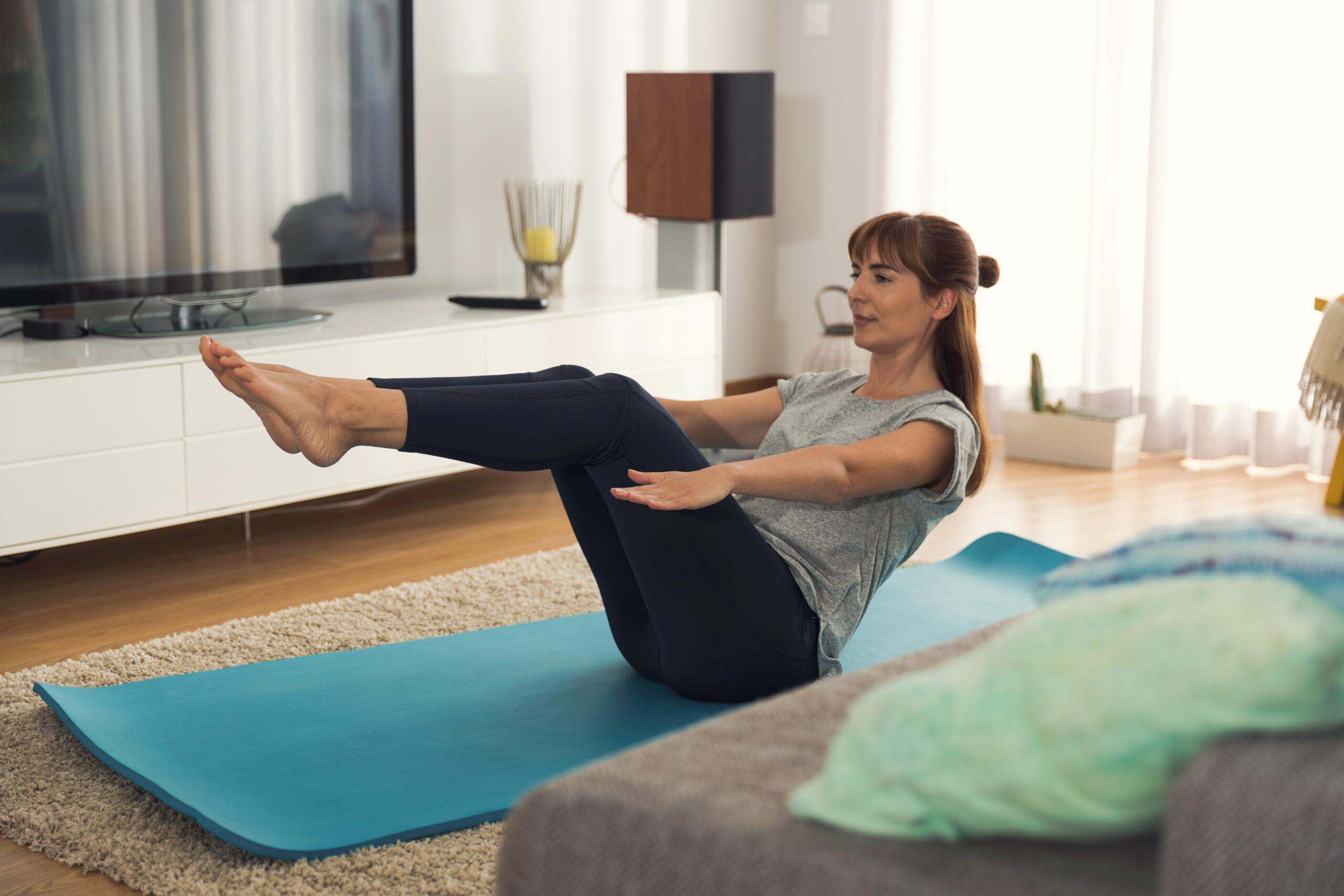 Hjemmetræning og muskelmasse